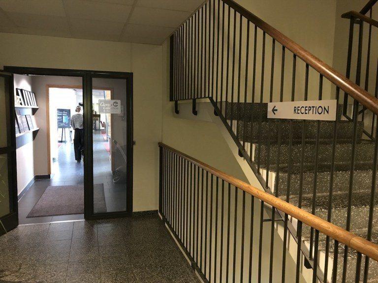 二樓是酒店櫃檯 圖文來自於:TripPlus