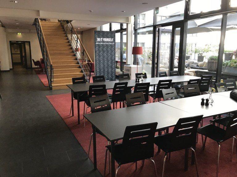 交誼廳、餐廳也是在2樓 圖文來自於:TripPlus