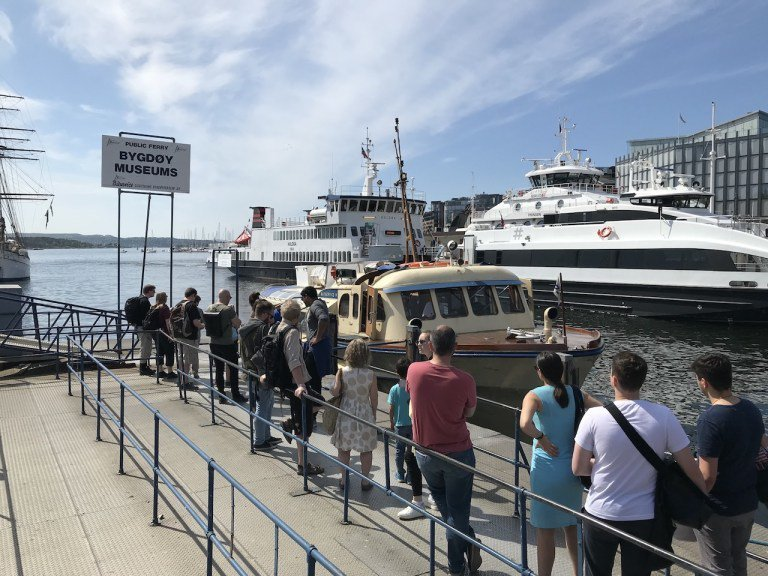 不過我個人推薦來市政府旁碼頭搭船,去挪威奧斯陸比格迪半島,一方面可以體驗港灣風光...