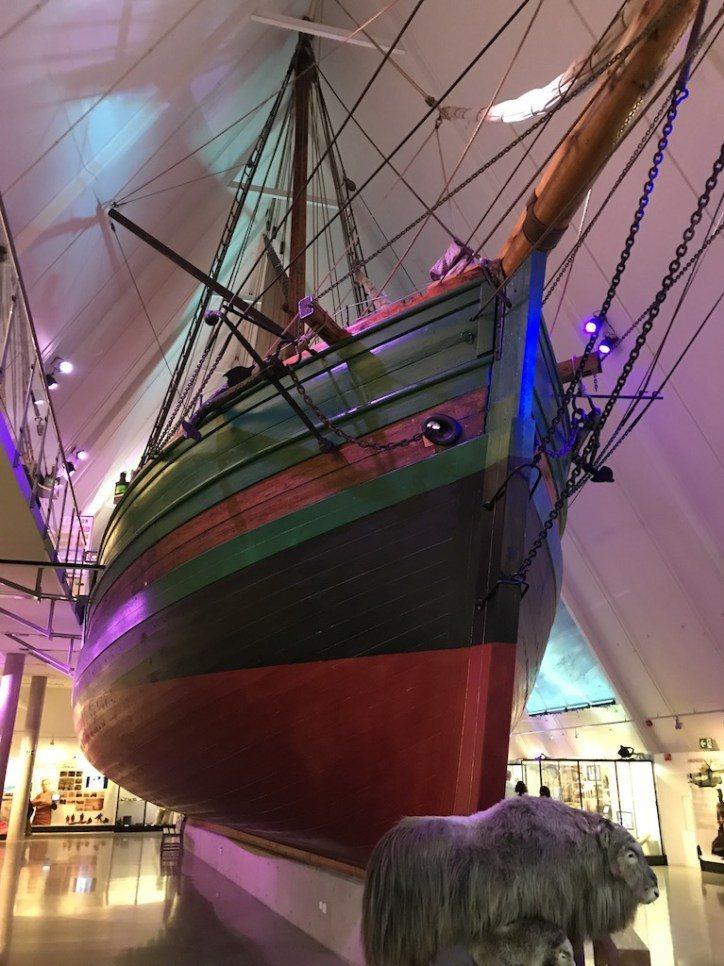 前進號博物館,其實是以極地探險為主題的博物館。看著那些冒險家的故事,想想自己現在...