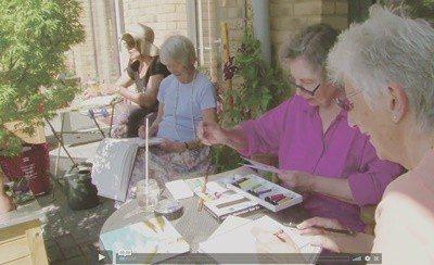 「新地」的居民生活彼此相伴,也分享彼此的嗜好。圖/擷自OWCH官網影片