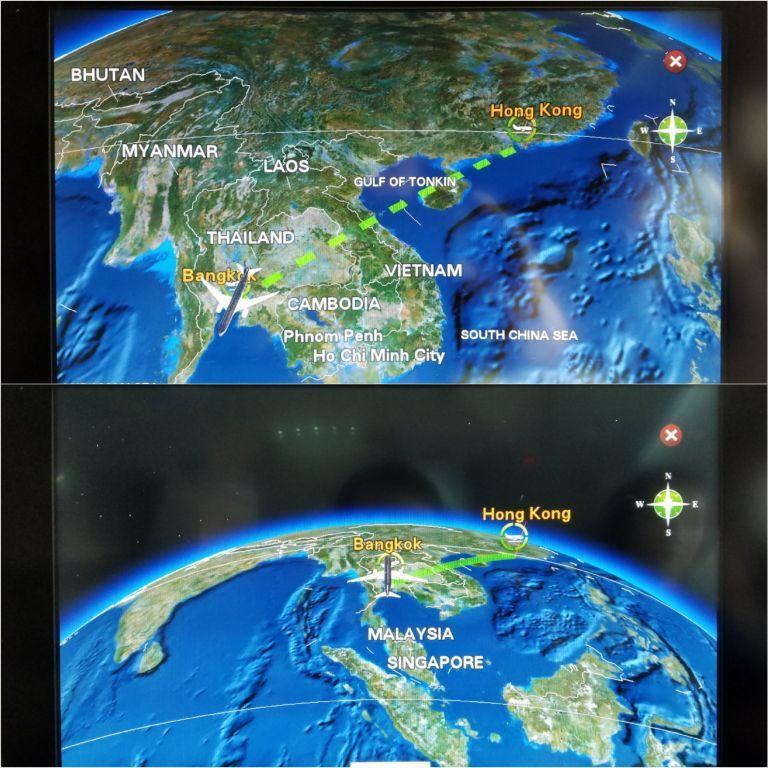 這次的飛行路線 圖文來自於:TripPlus