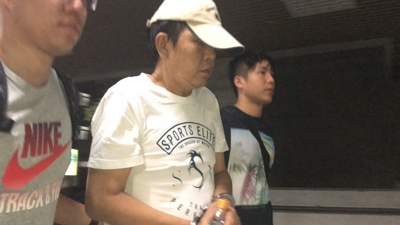 中華地政士事務所掛名負責人朱克立遭移送士林地檢署。記者蕭雅娟/攝影