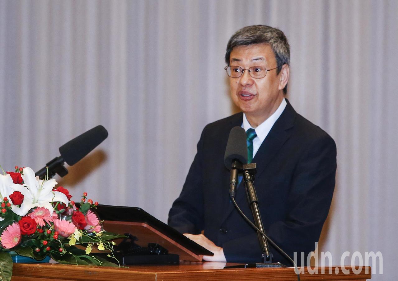 副總統陳建仁。記者陳柏亨/攝影