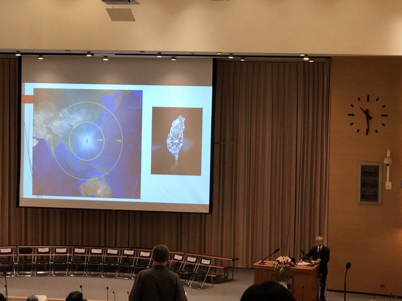 台灣研究世界大會,學者黃富三演講。記者何定照/攝影
