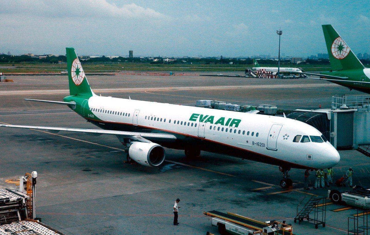 長榮航空宣布往返日本機型放大,以輸運更多旅客。本報系資料照