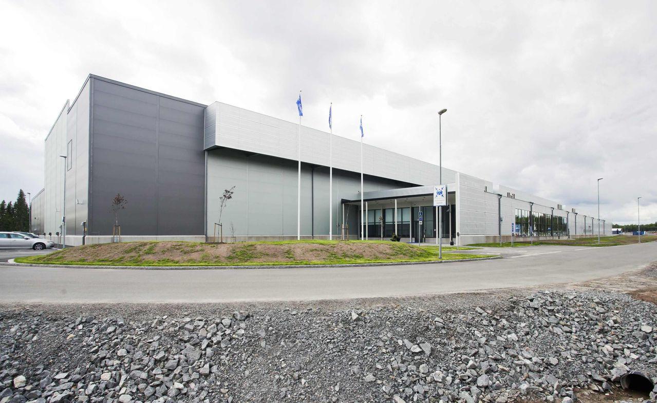 臉書位於瑞典的資料中心。路透