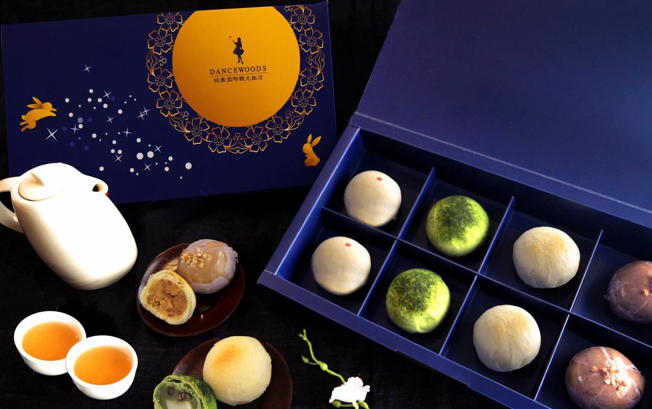 宜蘭綠舞飯店推出中秋玥舞禮盒。