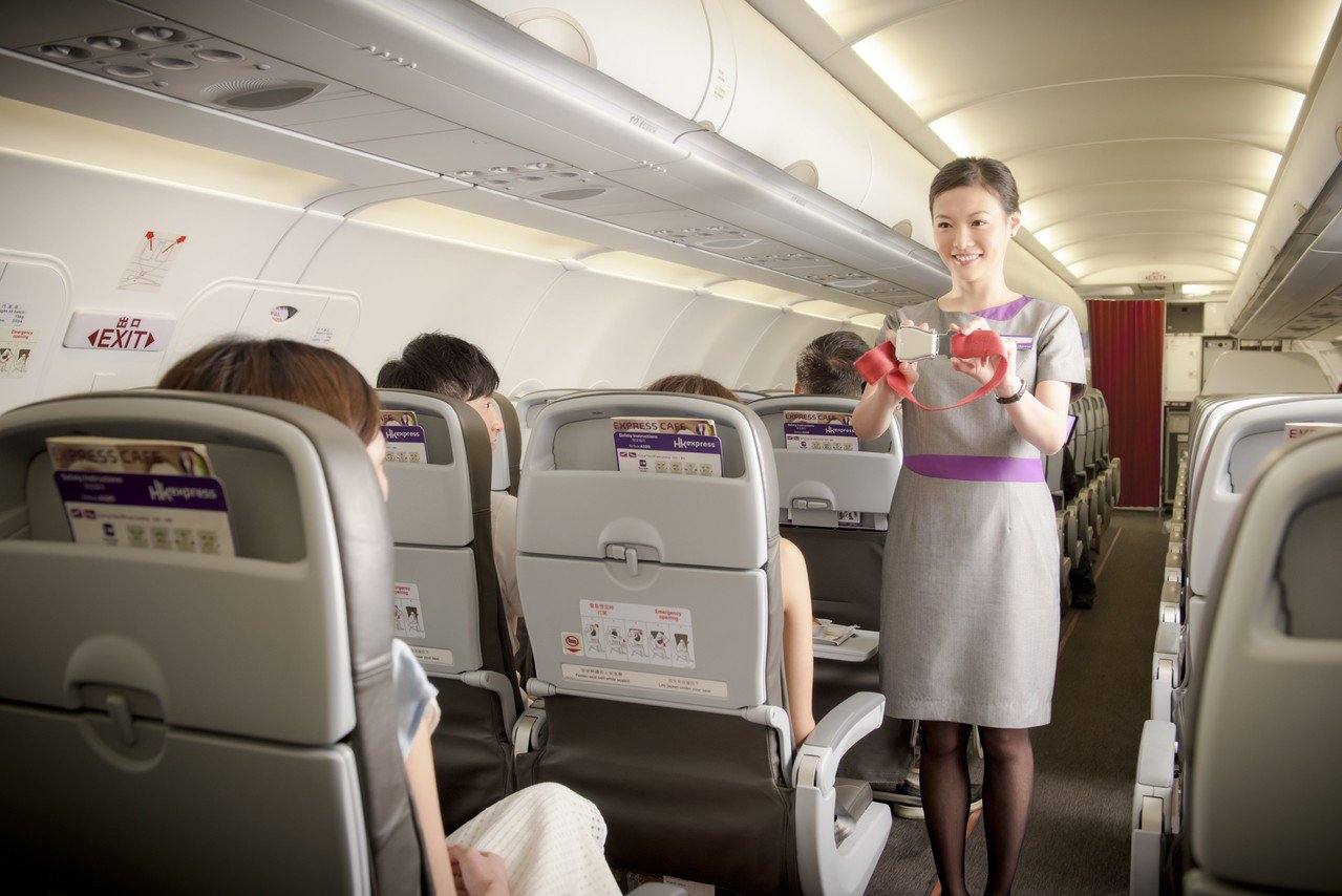 HK Express連續三年獲得「全球十大最安全低成本航空公司之一」的評價。 圖...