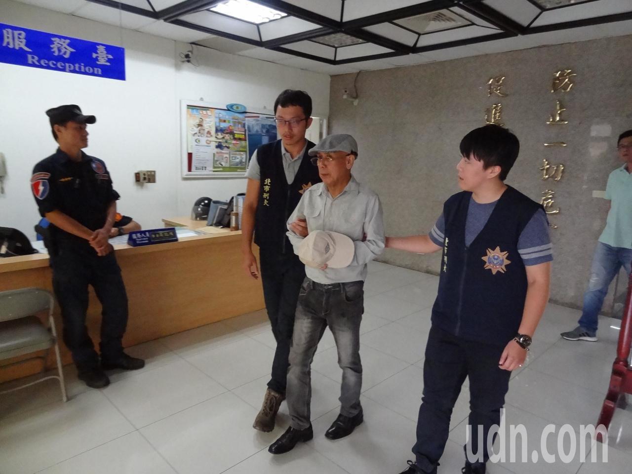遭逮捕的滑輪理事長蔣炳正。記者廖炳棋╱攝影