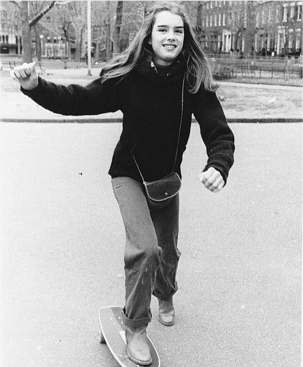布魯克雪德絲才13歲就已成美國當紅女偶像。圖/摘自Instagram