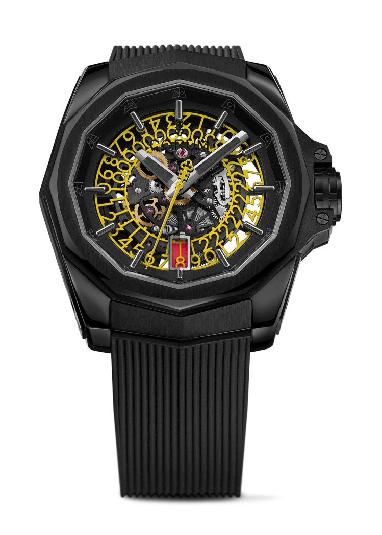 Corum Admiral AC-One 45 Squelette海軍上將系列鏤...