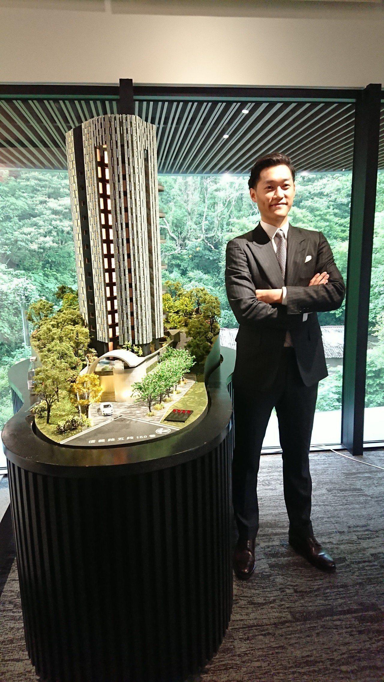 大同集團第三代新美齊董事長林傳捷,今日為旗下新案「Jade 12」正式公開站台。...