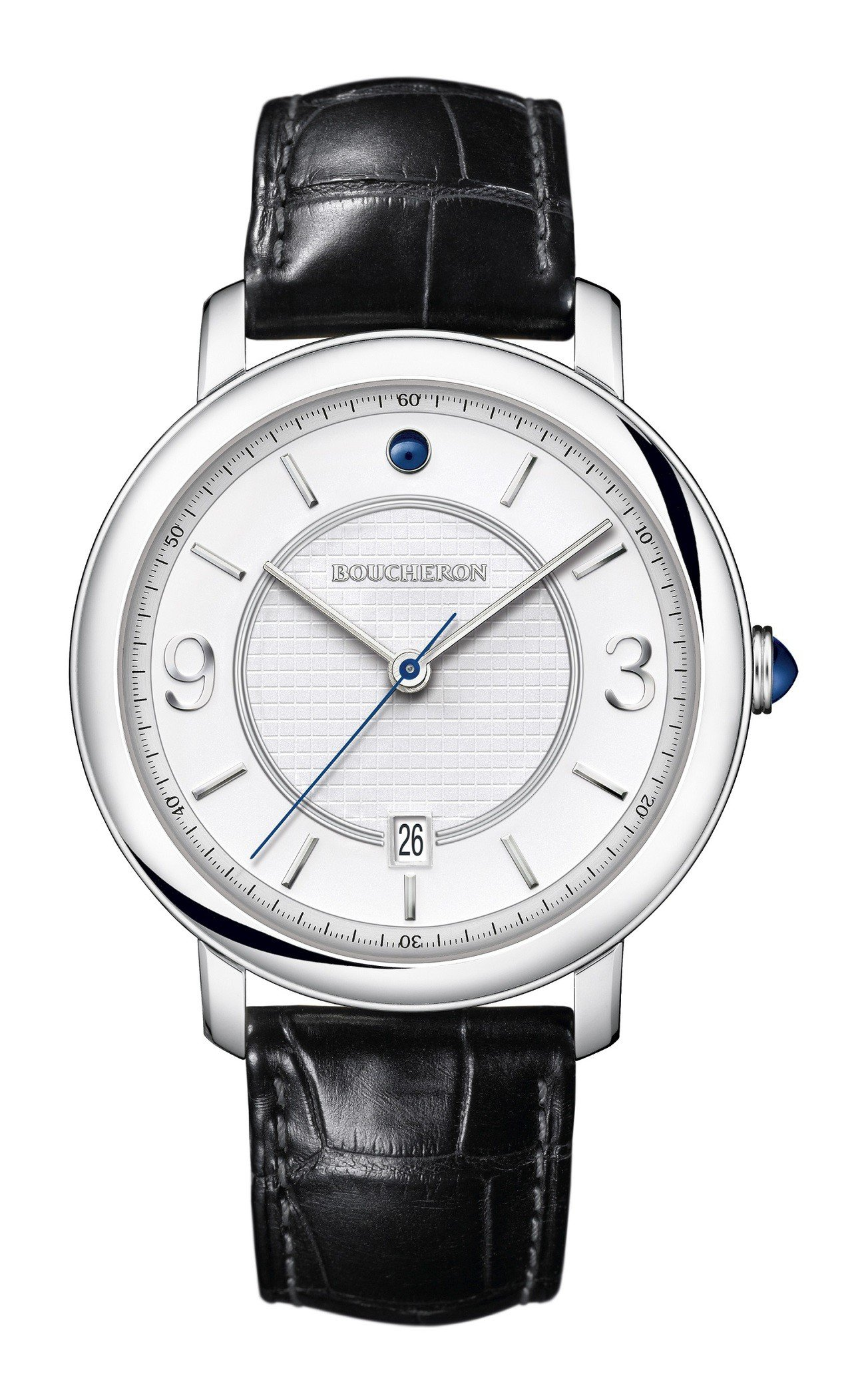 Epure Acier系列42毫米自動上鍊腕表,16萬4,000元。圖/寶詩龍提...