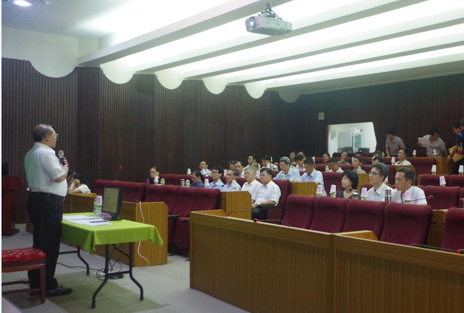 雲林地檢署今天邀集警調政風單位,召開聯合查賄會議,向賄選宣戰。圖/雲林地檢署提供