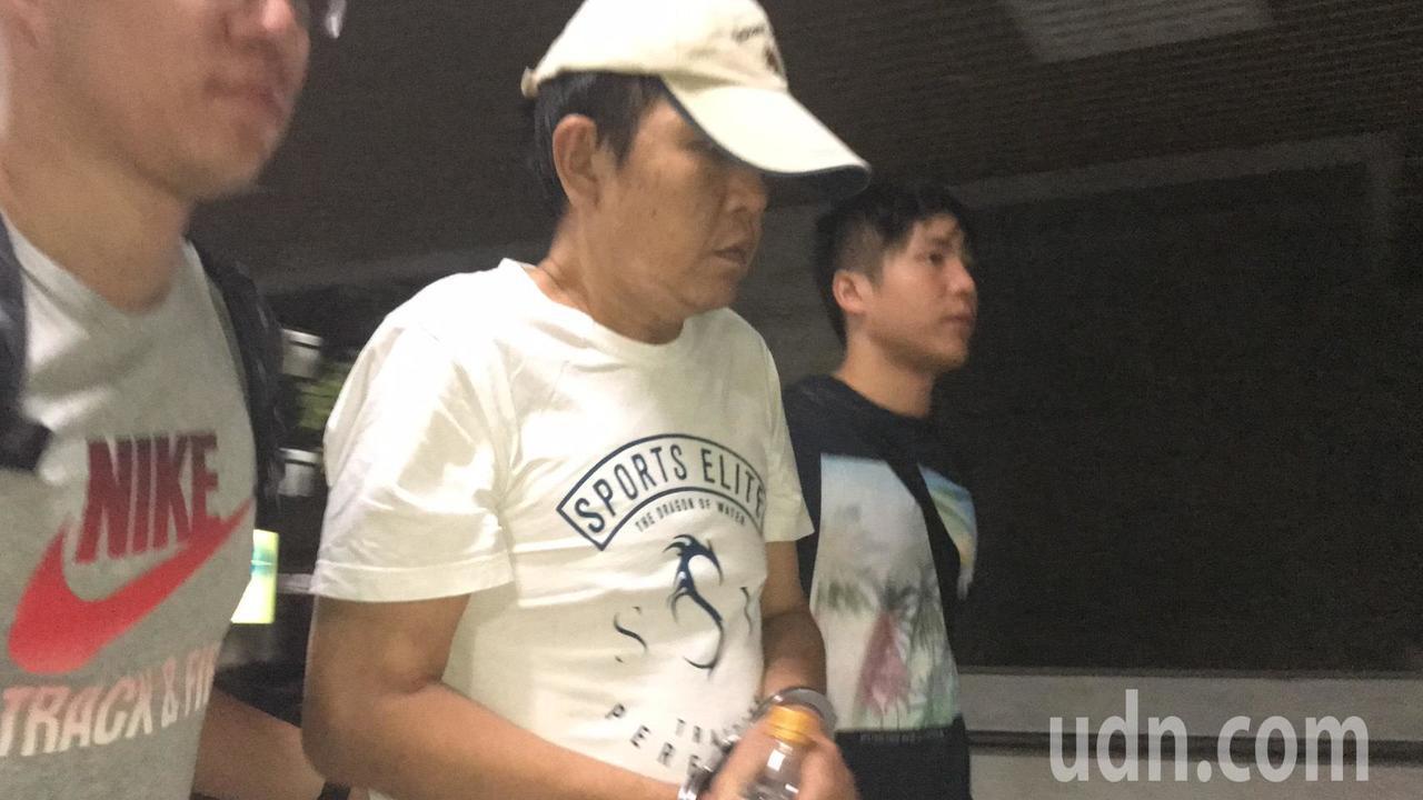 朱克立遭裁定羈押禁見。記者蕭雅娟/攝影
