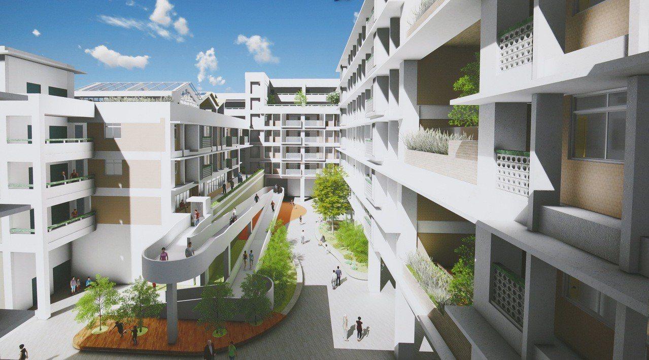 梧棲海線的首案三民段社會住宅今天動土,是台中市繼豐原安康段後的第7處社會住宅,共...