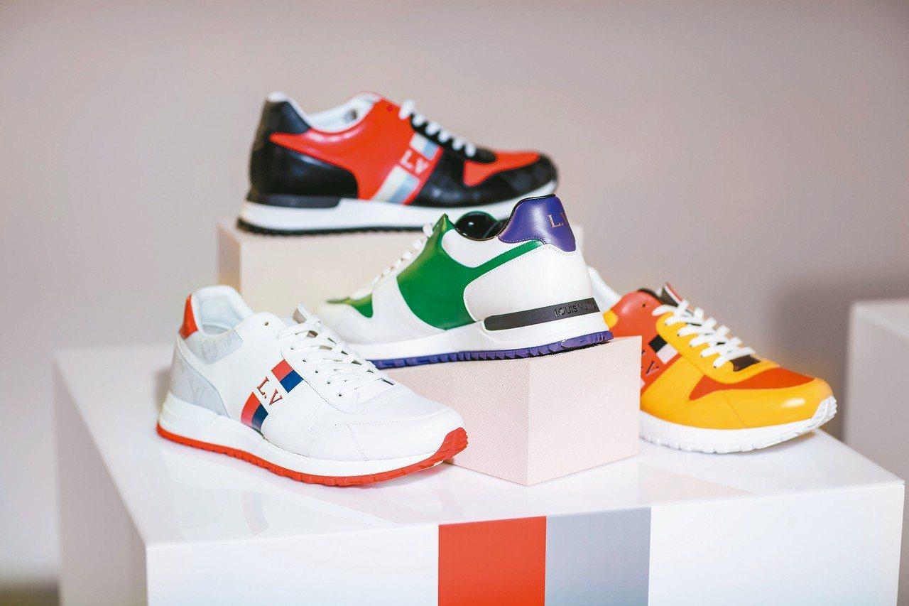Run Away系列運動男鞋將於2019年初推出客製化全新服務。 圖/LV提供