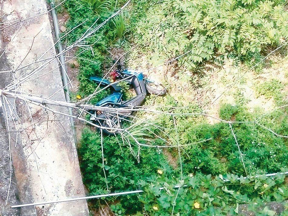 彰化縣139線死亡車禍頻傳,21歲鄭姓學生昨被發現陳屍在花壇段護欄下,下方還有他...