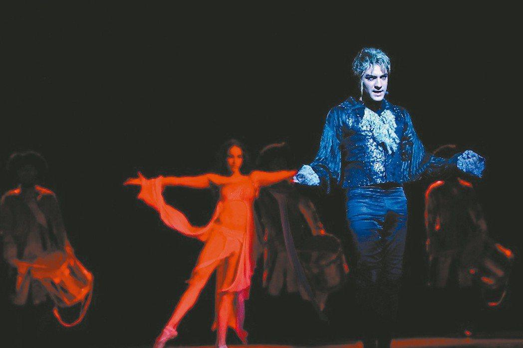 經典音樂劇《搖滾莫札特》十月登場。 圖╱聯合數位文創提供