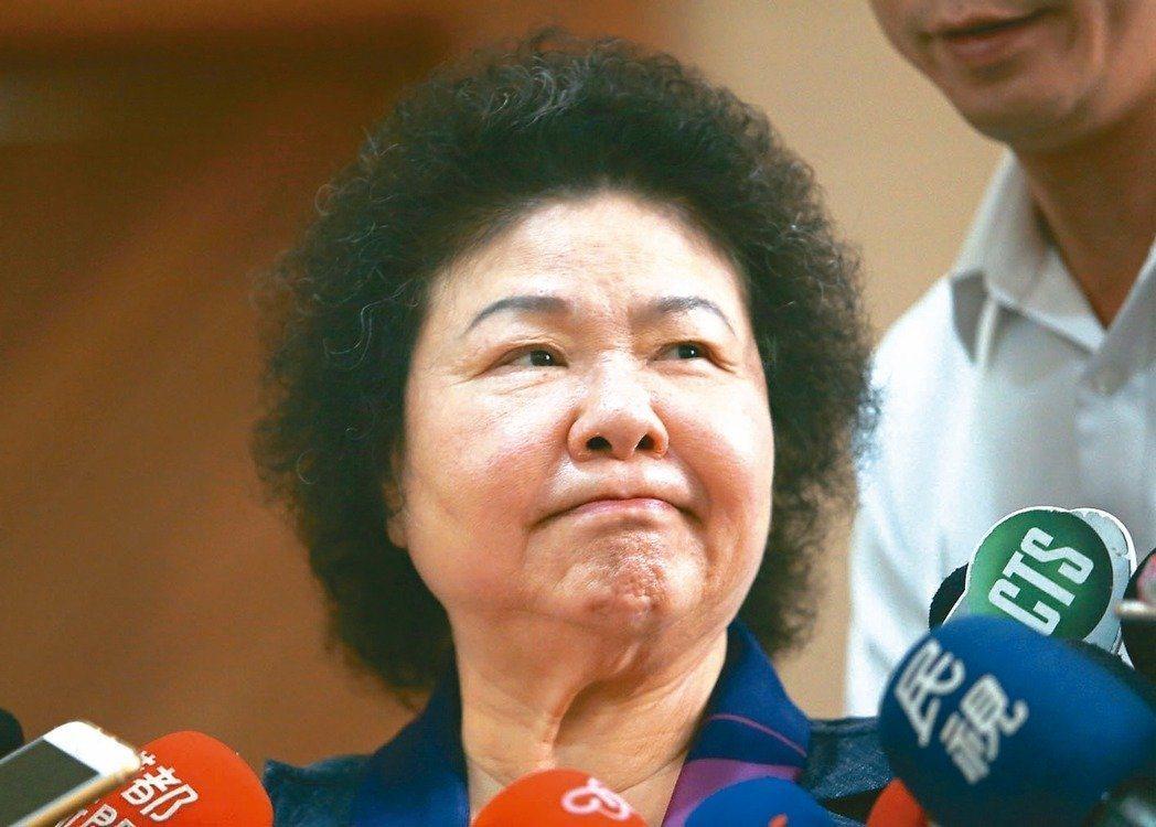 陳菊的高雄市府班底已有十餘人進入中央政府,引發議論。 圖/聯合報系資料照片