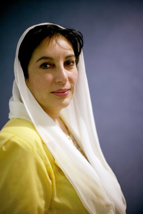巴基斯坦前總理碧娜芝‧布托。 (路透)