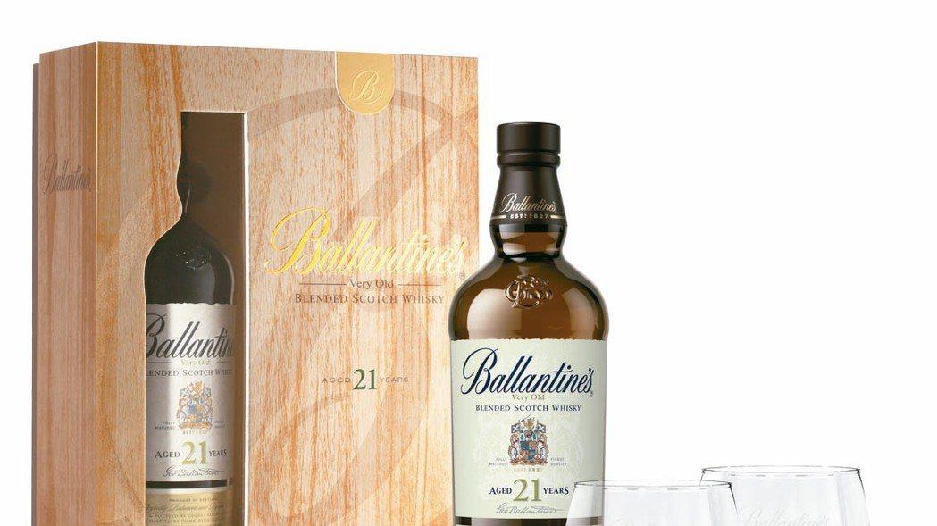 百齡罈21年調和式蘇格蘭威士忌禮盒建議售價:2,888元