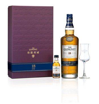 格蘭利威18年 單一麥芽蘇格蘭威士忌禮盒建議售價:2,988元