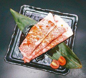 A5日本和牛紐約客壽喜燒(依當日進貨重量計價)。圖/各業者提供
