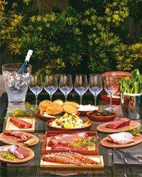 「燒肉管家到你家」食材豐富。圖/各業者提供