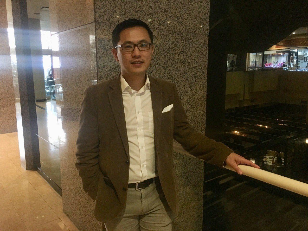 總統府前發言人陳以信。 記者賴蕙榆攝影