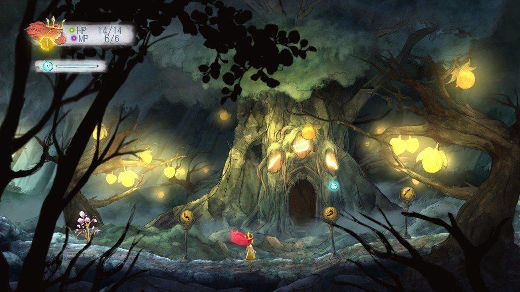 微光將成為玩家的滑鼠指標,為你點亮黑暗的道路。