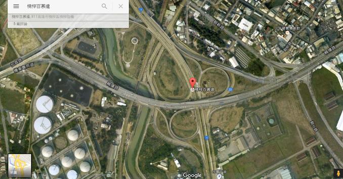 高雄的「楠梓百慕達」是許多人認為超容易迷路的地方 圖片來源/google map