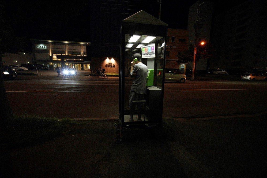 NTT開放北海道全境的公共電話,免費讓災民使用。 圖/美聯社