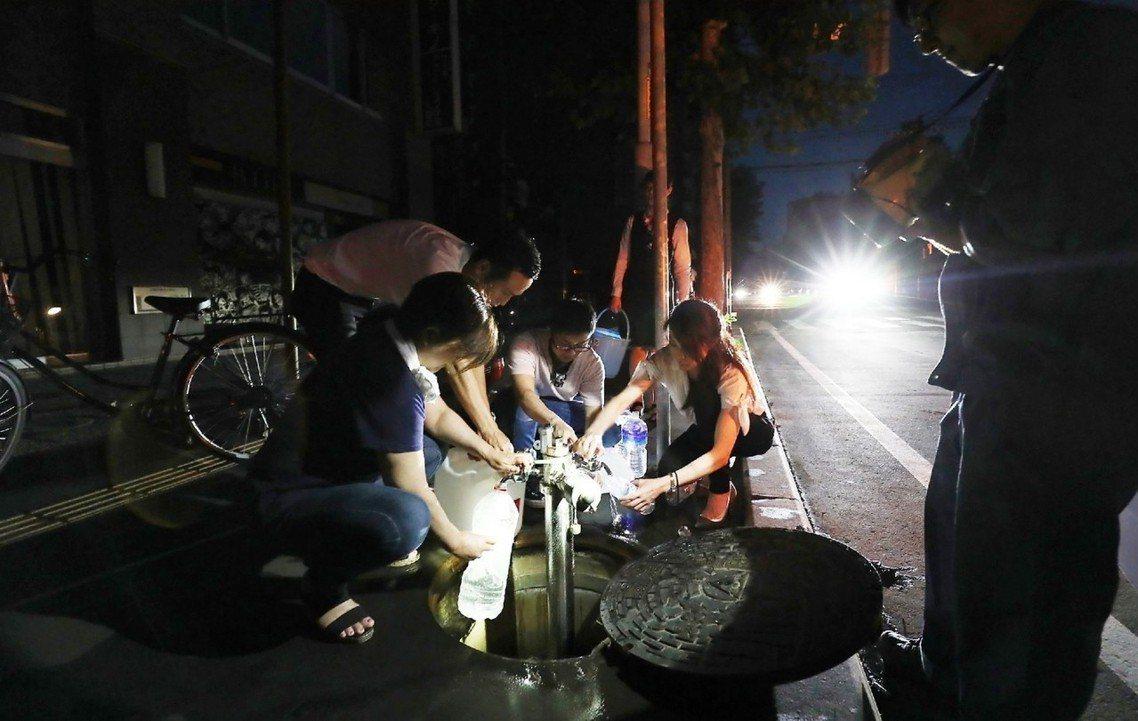 「全道大限水」的謠言消息,一度讓北海道人相當緊張。 圖/法新社