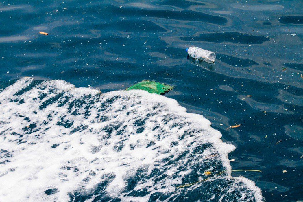 新北金山區到石門區的海漂垃圾。圖/黑潮文教基金會提供