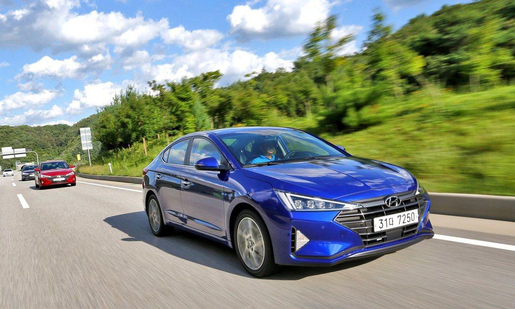 小改款Hyundai Elantra在韓國所提供的動力包含了汽油、柴油與LPi瓦...