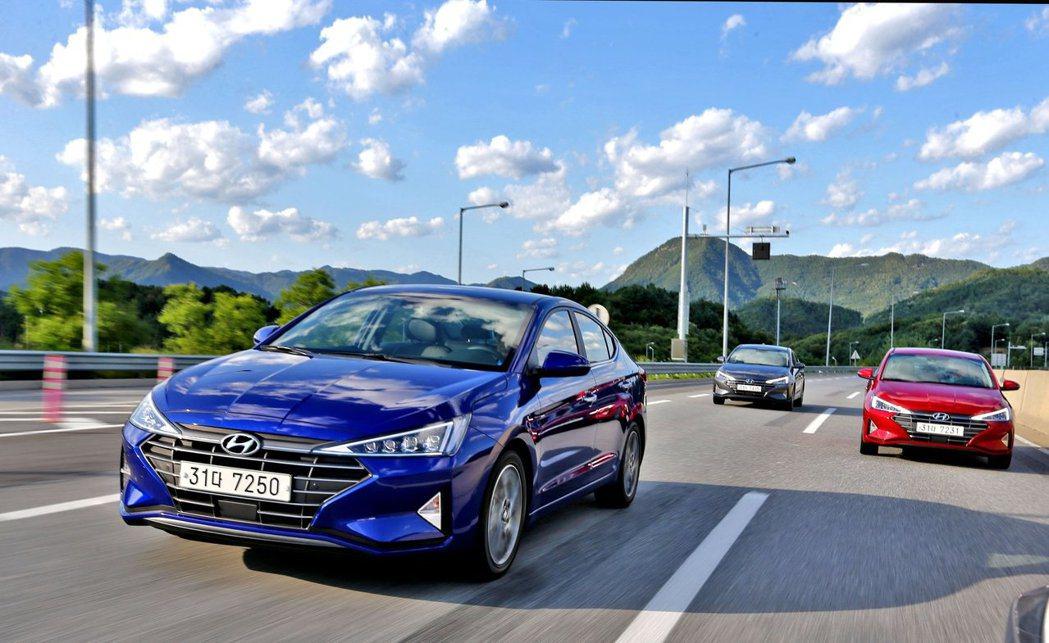 小改款Hyundai Elantra目前已在韓國與美國上市。 摘自Hyundai