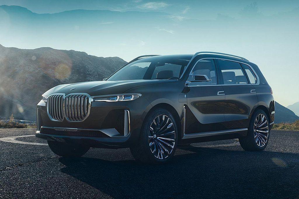 去年法蘭克福車展推出的BMW Concept X7 iPerformance概念...