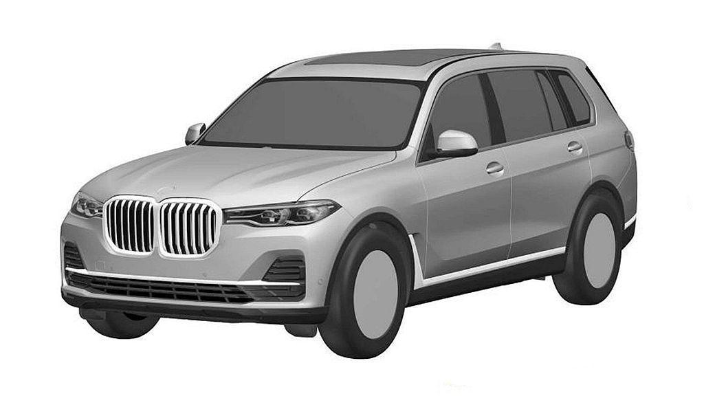 不只美國市場,許多國家也接獲BMW X7外觀設計專利申請,顯示這輛旗艦休旅不只會...