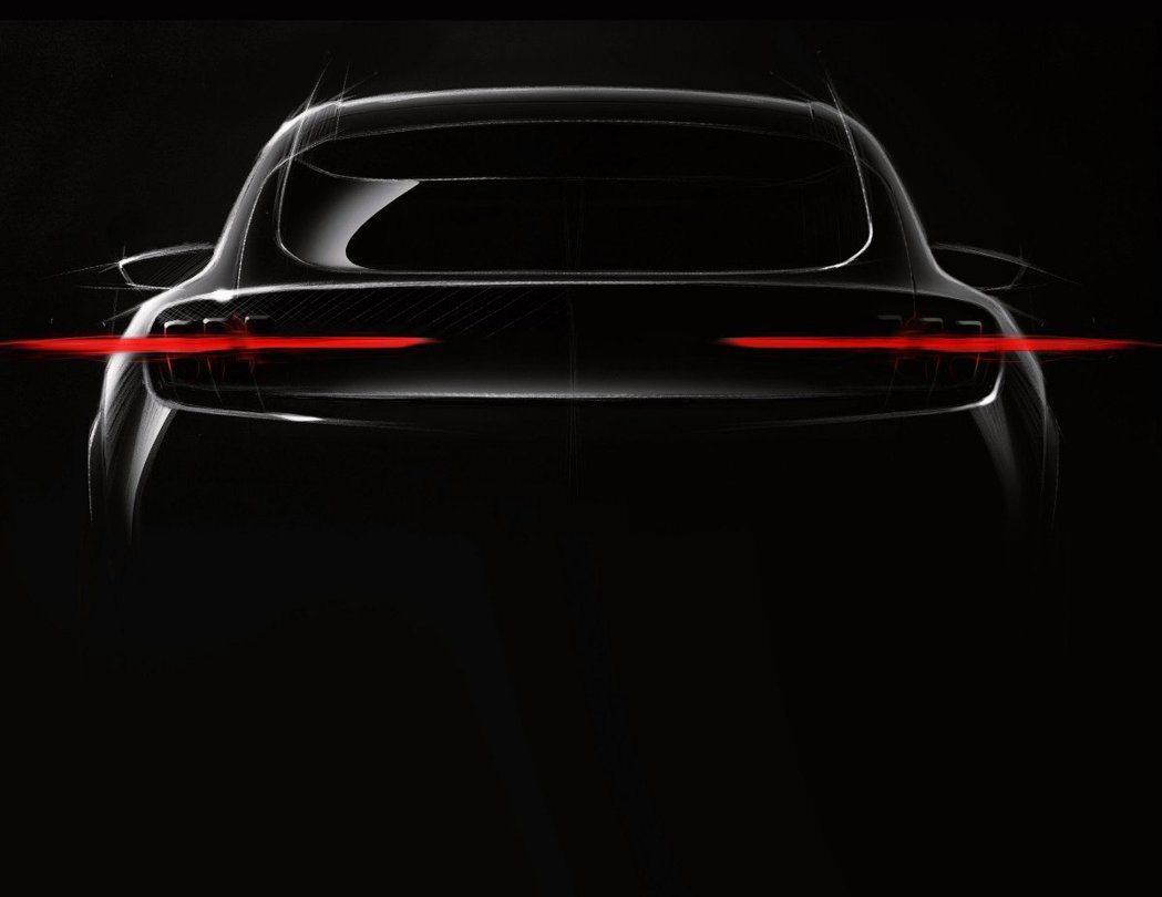 Ford全新電動跨界休旅Mach 1首張廠圖。 摘自Ford