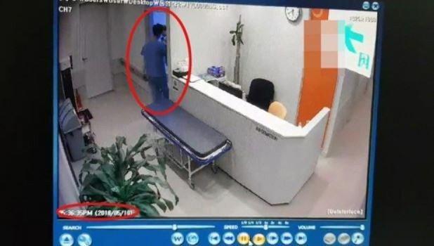 醫療儀器業者穿著手術服,代替醫生動刀,造成患者腦死的悲劇。圖擷自MSN新聞