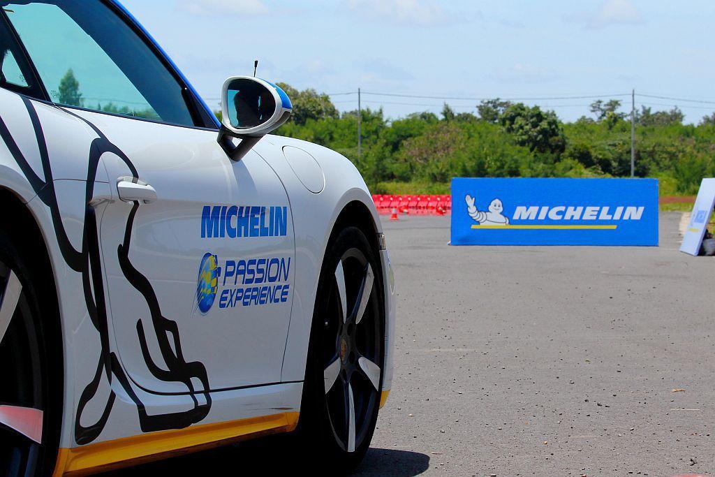 每年都會舉辦「Michelin Experience」駕訓營,成為米其林輪胎年度重點體驗活動。 記者張振群/攝影