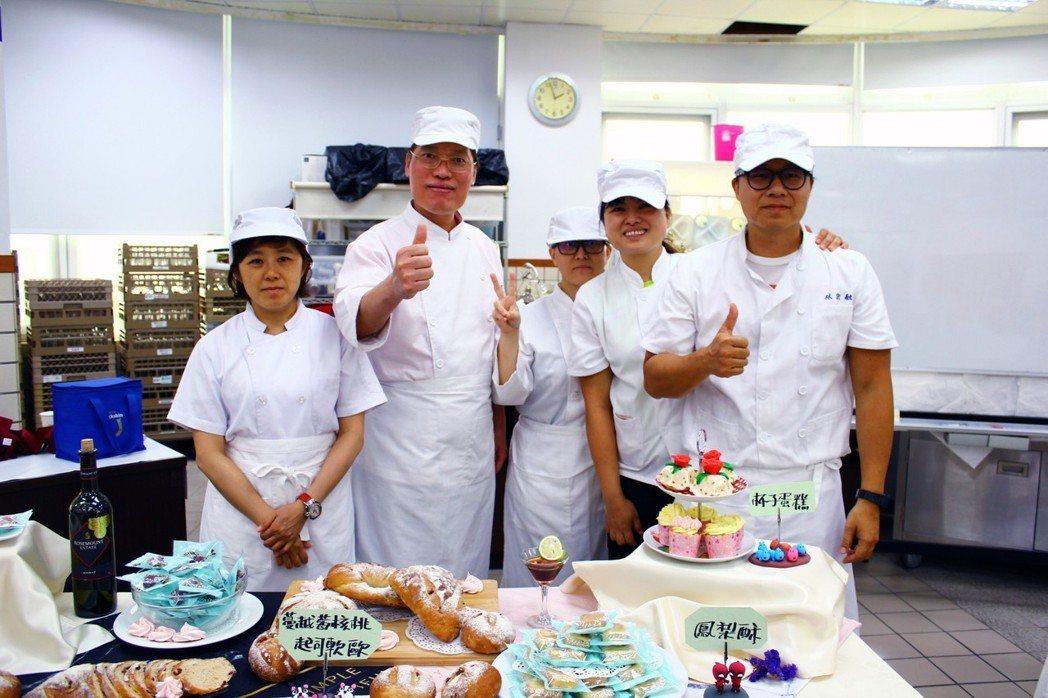 嘉藥烘焙培訓班課程內容豐富,參與學員收穫多多。 嘉南藥大/提供