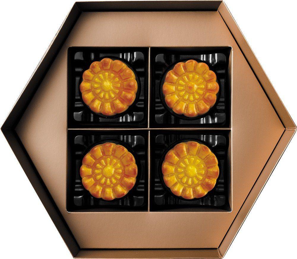 一之鄉中秋禮盒-金色月亮禮盒。照片廠商提供。
