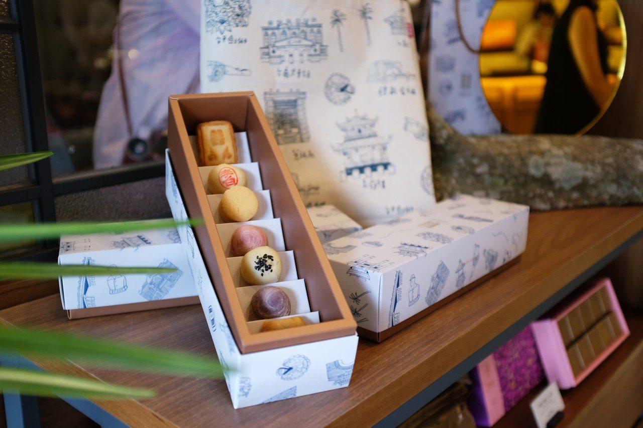 七小福禮盒,售價360元。記者沈佩臻/攝影