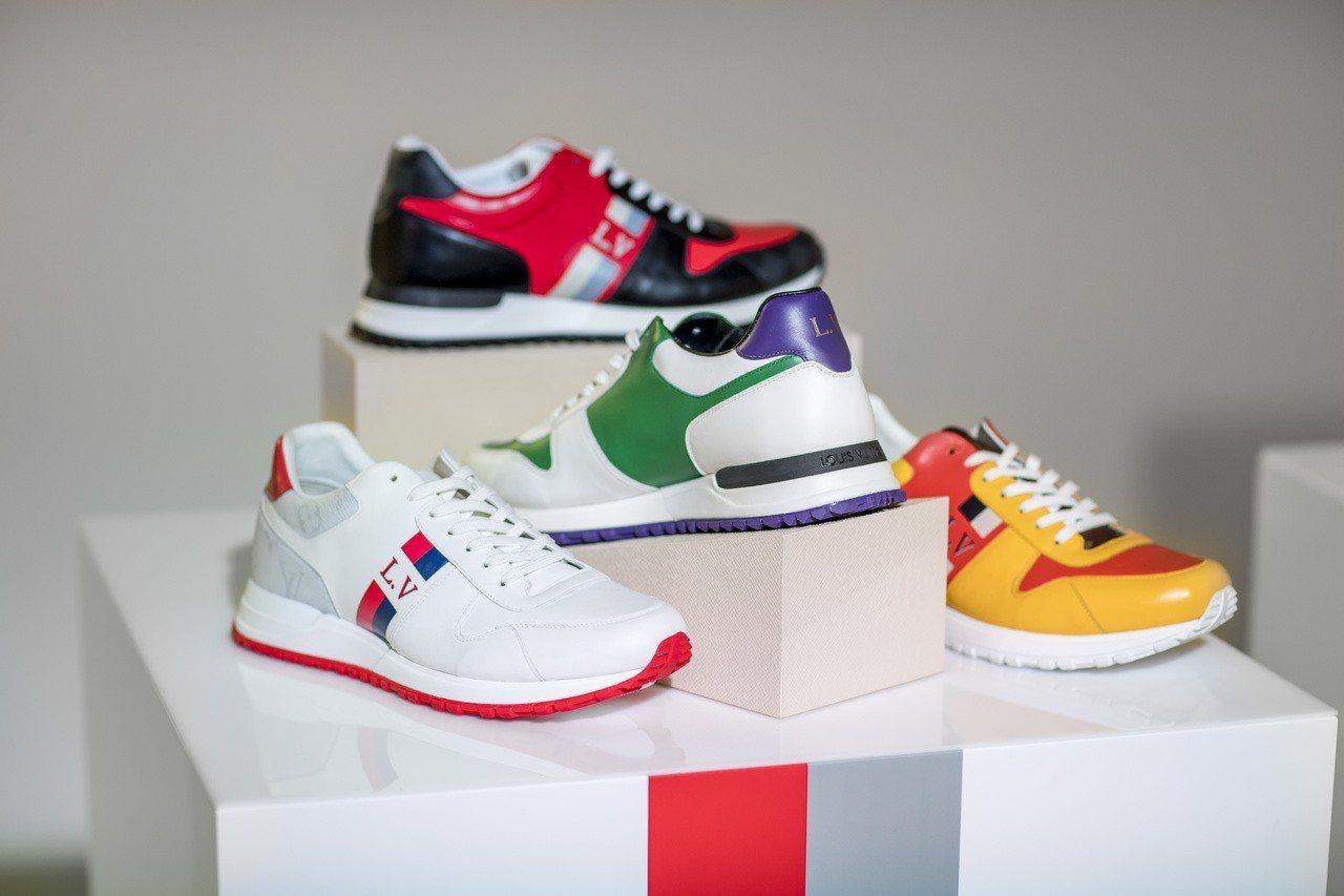 Run Away系列運動男鞋將於2019年初推出客製化全新服務。圖/LV提供