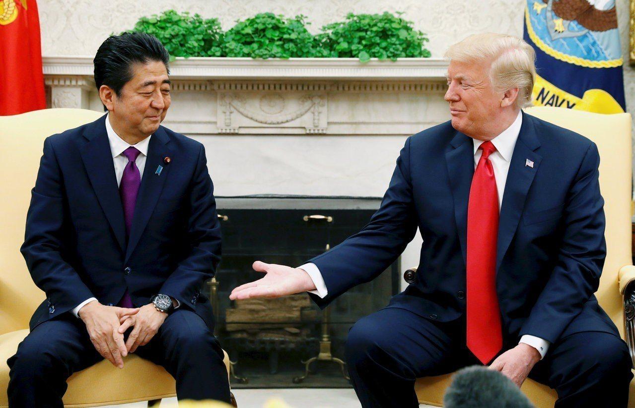 川普關注美國貿易逆差,下一個貿易戰目標可能是日本。 路透