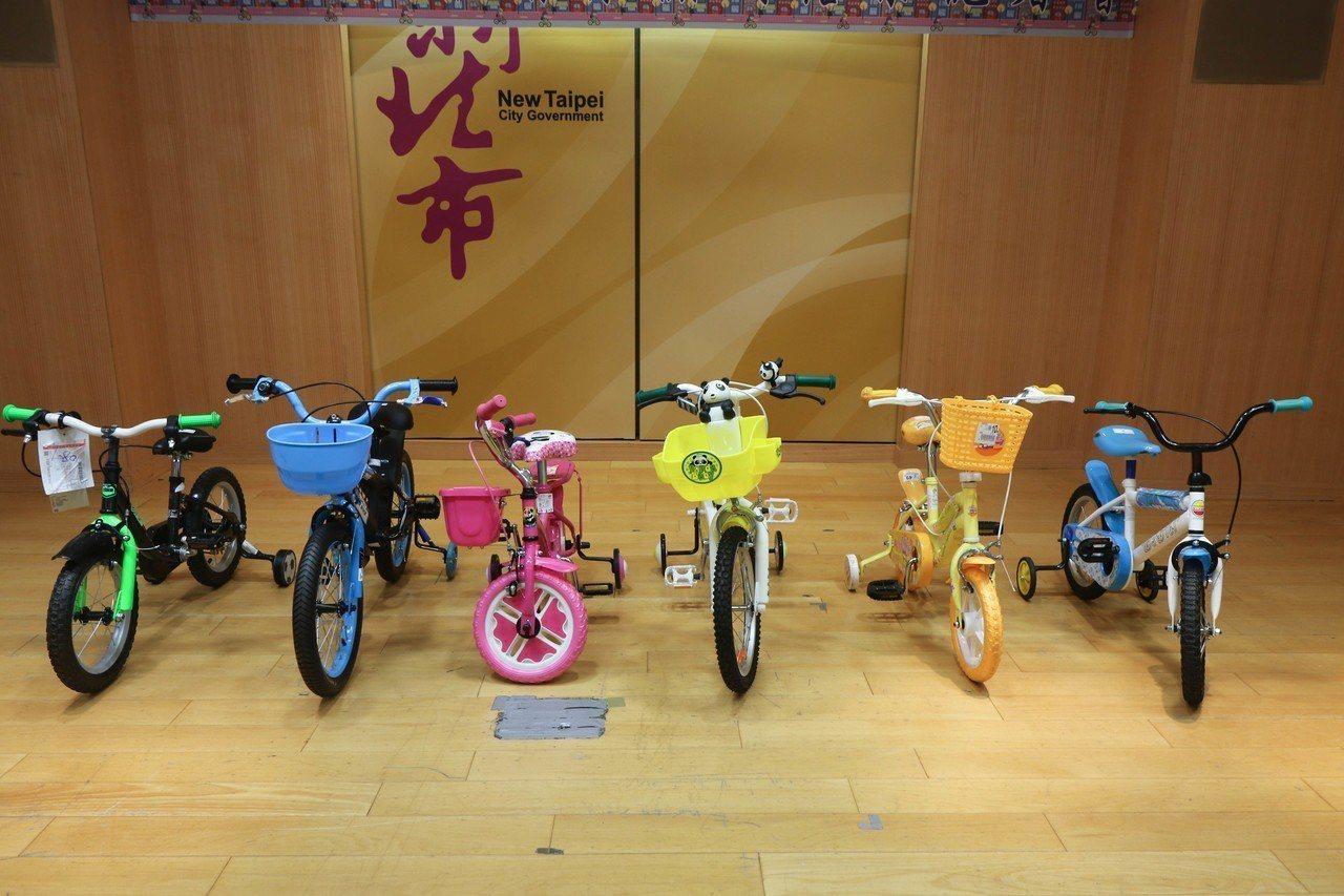 新北法制局消保官室針對市售兒童自行車進行抽件,6輛有5輛不符合國家標準,僅熊貓童...