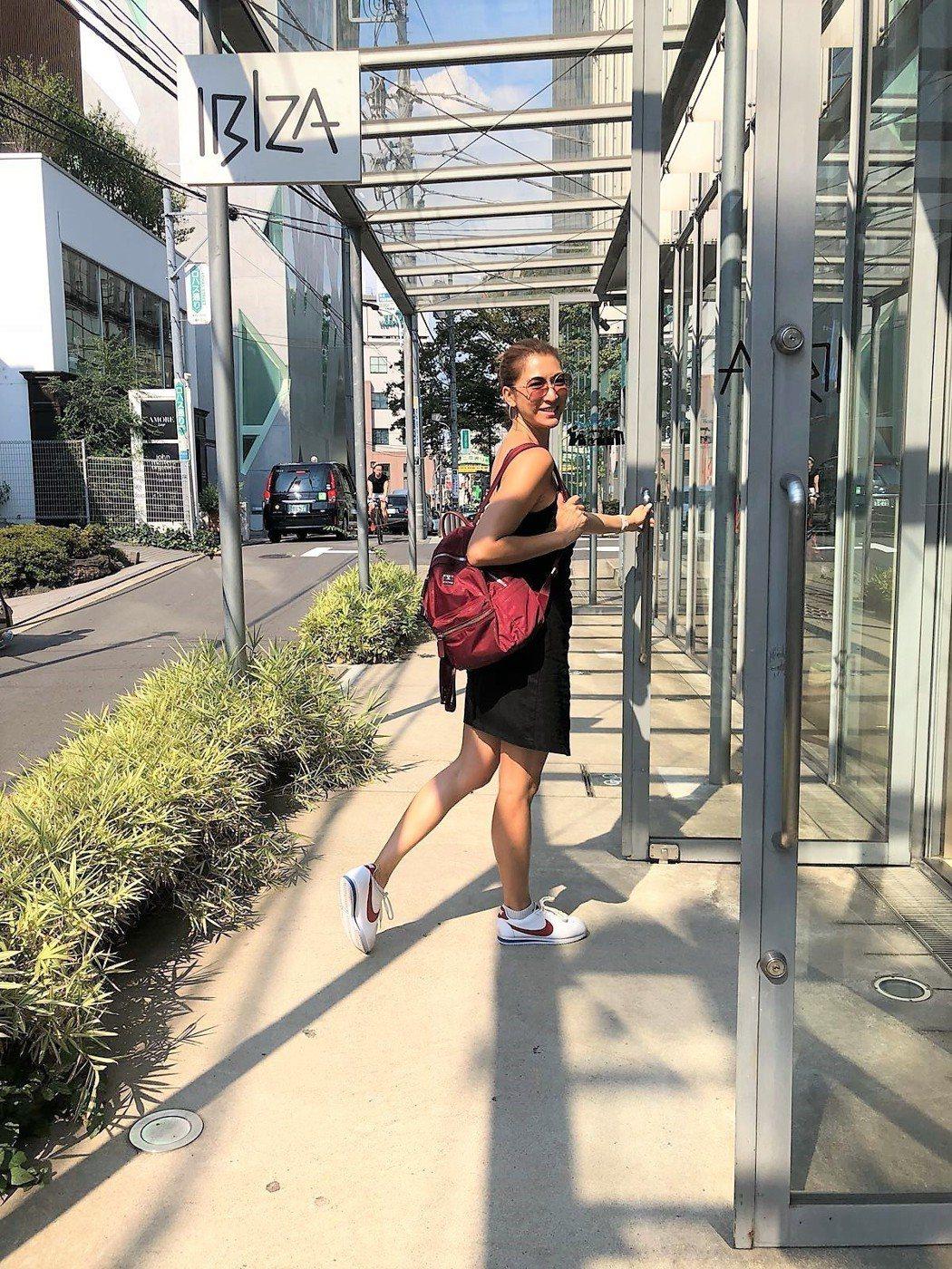 李詠嫻在東京完成多項人生夢想。圖/艾迪昇提供